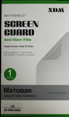 Защитная пленка XDM для LG G3