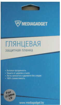 Защитная пленка Mediagaget для LG Optimus L9