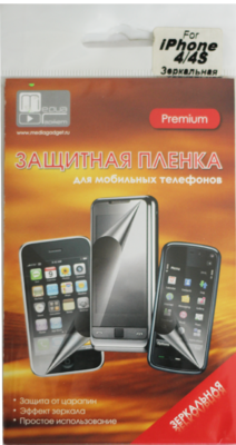 Защитная пленка Mediagadget Premium для iPhone 4S