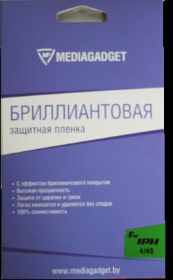 Защитная пленка Mediagadget для iPhone 4S