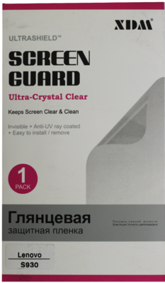Защитная пленка XDM матовая для Lenovo K930