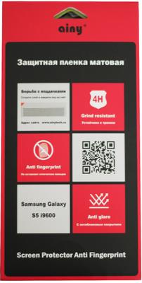 Защитная пленка Ainy для Samsung Galaxy S5