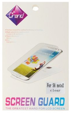 Защитная пленка Screen Guard на телефон Samsung Galaxy Note 2