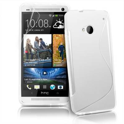 """Чехол накладка """"Sline"""", силикон, для HTC One"""