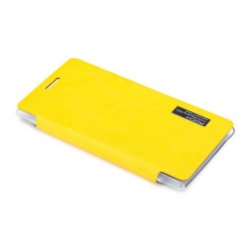 Чехол для Nokia Lumia 925 пластик с кожей Rock Elegant