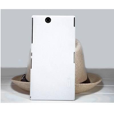 Чехол для Sony Xperia Z Ultra XL39H пластиковый тонкий + пленка NillKin D-Style белый