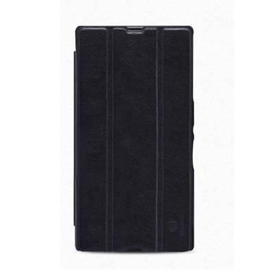 Чехол для Sony Xperia Z Ultra XL39H кожанный Nillkin Leather Stylish черный