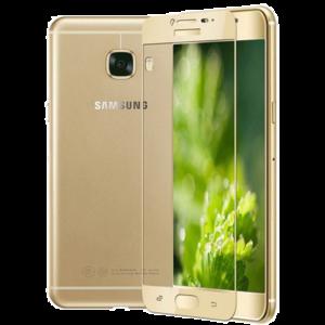 Защитное стекло на телефон Samsung Galaxy A5 3D Gold