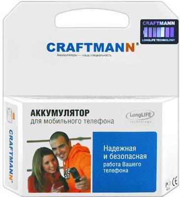 Аккумулятор Craftmann BL-5B для телефона Nokia 2626