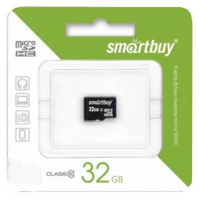 Карта памяти microSD Smartbuy 32GB