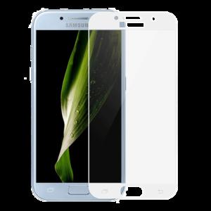 Защитное стекло на телефон Samsung Galaxy A5 3D White