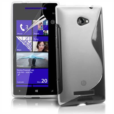 """Чехол накладка """"Sline"""", силикон, для HTC 8X"""