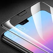 Защитное 5D стекло Huawei p20 pro чёрное