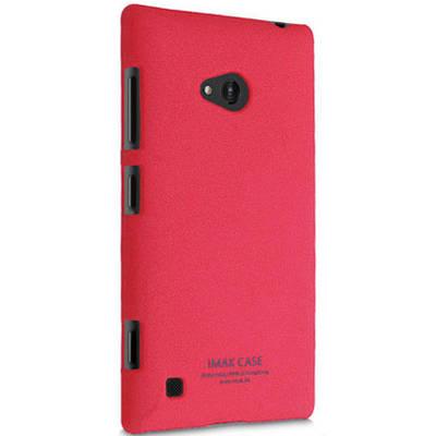 Чехол для Nokia Lumia 720 керамический + пленка iMak Stone, фиолетовый