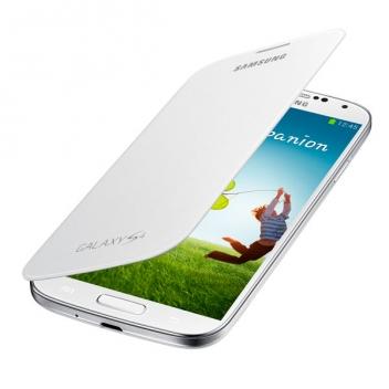 Чехол для Samsung Galaxy S4 (i9500) (i9505) книжка, оригинальный EF-FI950BWE white