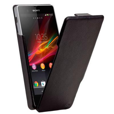 Чехол-книга для Sony Xperia Z LT36i кожаный Case-mate (США)