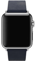 Apple Watch 38mm Stainless Steel with Blue Modern Buckle (MJ332)