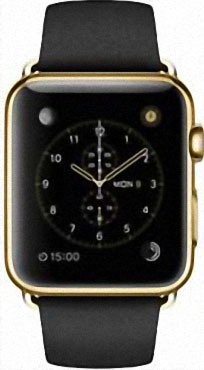 Apple Watch Edition 42mm Yellow Gold with Black Classic Buckle (MKL62)