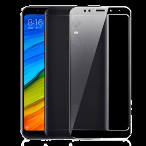Защитное стекло на телефон Xiaomi Redmi 5 Plus 5D Black