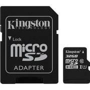Kingston Canvas Select SDCS 32GB microSDHC 32GB с адаптером