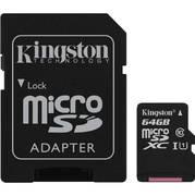 Kingston Canvas Select SDCS 64GB microSDXC 64GB с адаптером