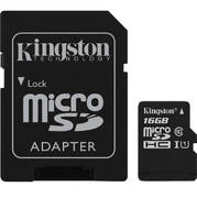 Kingston Canvas Select SDCS 16GB microSDHC 16GB с адаптером