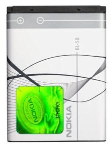 Аккумулятор оригинальный BL-5B для Nokia 5300 Xpress Music