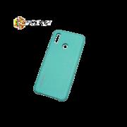 Чехол синий пластмассовый 3D Huawei P20 Lite