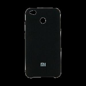 Чехол силикон черный на Xiaomi Redmi 4X