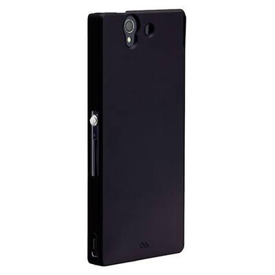 Чехол для Sony Xperia Z LT36i пластиковый тонкий Case-mate (США) Barely There черный
