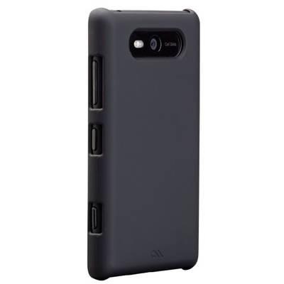 Чехол для Nokia Lumia 820 пластиковый тонкий Case-mate (США) Barely There черный