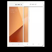 Стекло защитное белое Xiaomi Redmi 5A