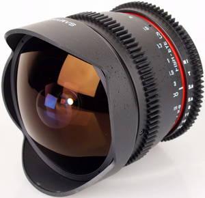 Samyang 8mm T3.8 AS IF UMC Fish-eye для Nikon F