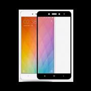 Стекло защитное черное Xiaomi Redmi Note 4