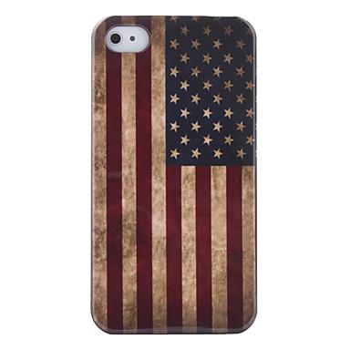 Винтажный чехол для iPhone 4S с американским флагом