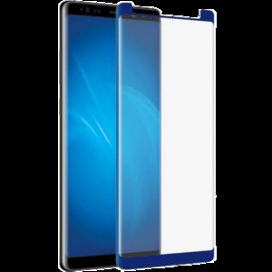 Защитное стекло на телефон Samsung Galaxy Note 8 3D Blue