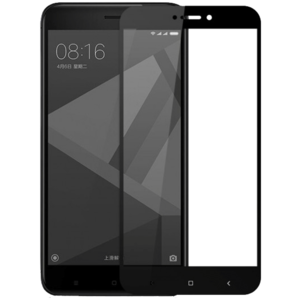 Защитное стекло на телефон Xiaomi Redmi Note 4X 3D Black