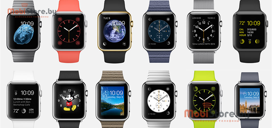 Разнообразие моделей Apple Watch