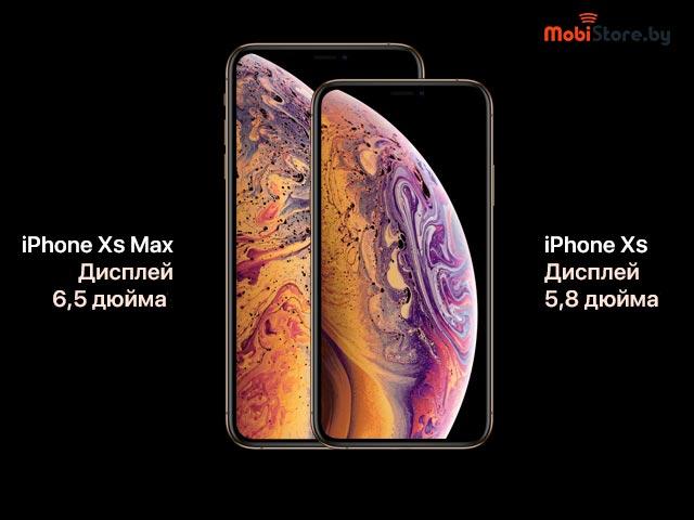 iPhone XS Max экран