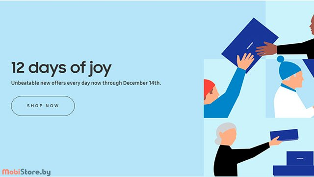 12 Days of Joy Samsung