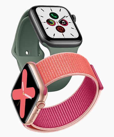 Новые Apple Watch 5