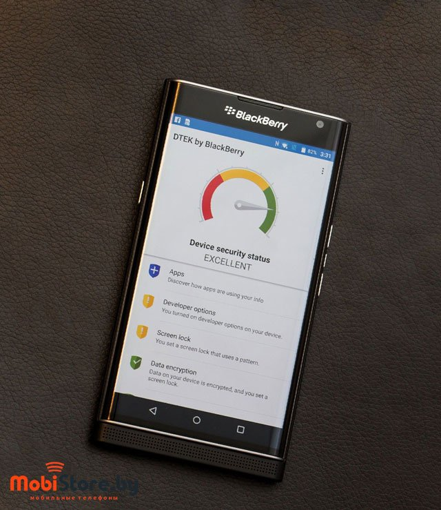 blackberry priv автономность