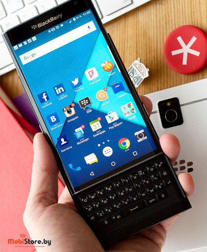 blackberry priv цена