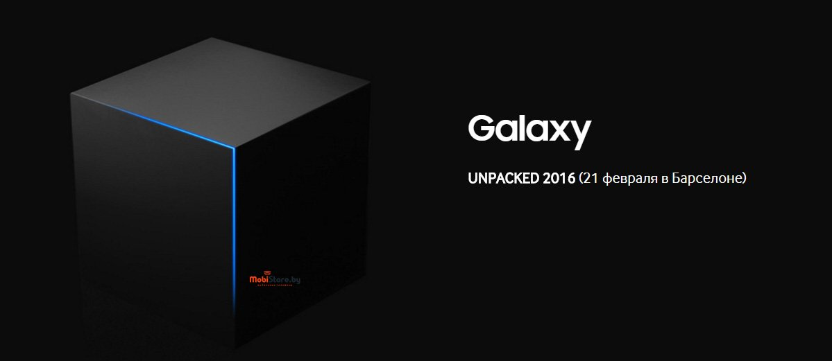 Samsung Galaxy S7-Unpacked 2016