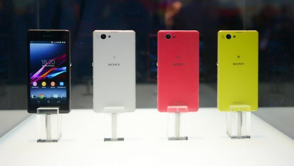 Sony Xperia Z1 Compact дизайн