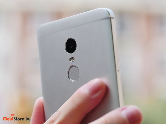 Xiaomi Redmi Note 4 камера и сканер